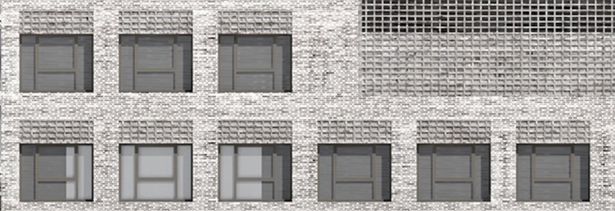 Edificio de oficinas para la Seguridad Social